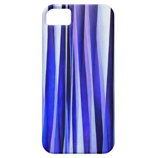 Peace and Harmony Blue Striped Abstract Pattern Case For The iPhone 5