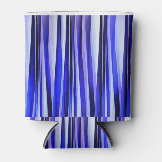 Peace and Harmony Striped Abstract Pattern Can Cooler