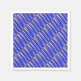 Peace and Harmony Striped Abstract Pattern Paper Napkin