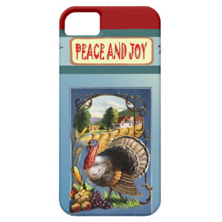 Peace and joy at Thanksgiving iPhone 5 Cover