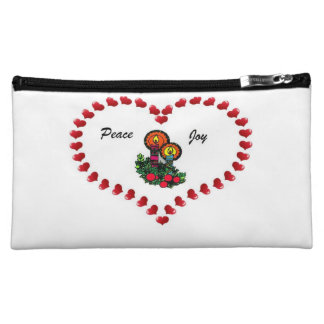 Peace And Joy Makeup Bag