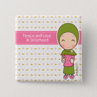 Peace and Love Badge