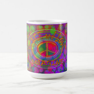 Peace and Love - Imagine Mug