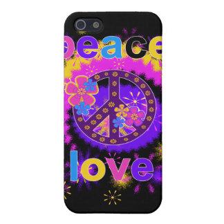 Peace and Love  Cover For iPhone 5