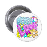 Peace And Love Pins