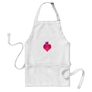 peace and love standard apron