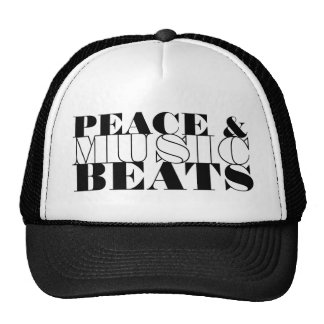 Peace and Music, Inspirational Cap