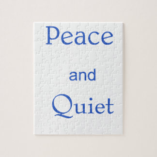 peace and quiet jigsaw puzzle