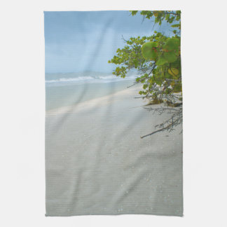 Peace and Quiet on Sanibel Island Kitchen Towel