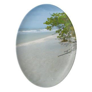 Peace And Quiet On Sanibel Island Porcelain Serving Platter
