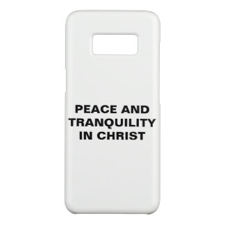 """""""Peace And Tranquility In Christ"""" Galaxy S8 Case"""