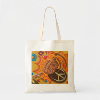 peace and war tote bag