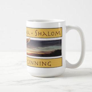Peace at the Beginning mug
