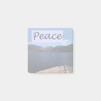 Peace at the Lake Post-it Notes