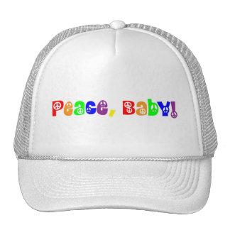 Peace, Baby Mesh Hat