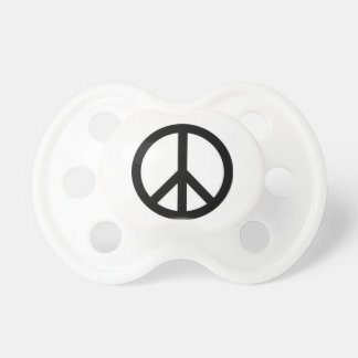 Peace baby hippie pacifer baby pacifiers