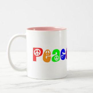 Peace, Baby Mug