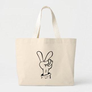 Peace Canvas Bag