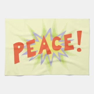 Peace Bang Kitchen Towels