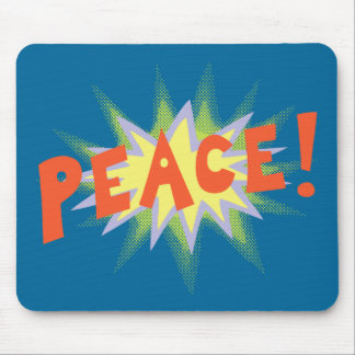 Peace Bang Mouse Pads