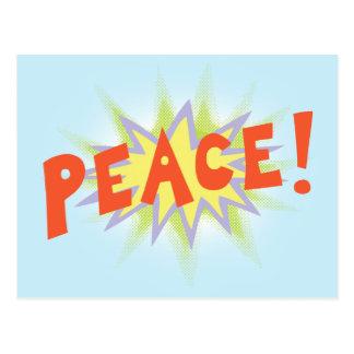Peace Bang Postcard