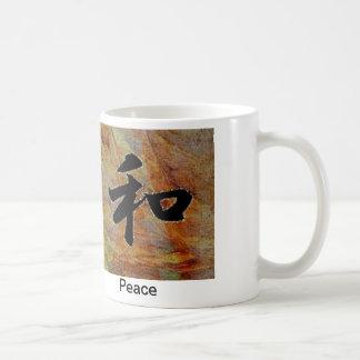 Peace Basic White Mug
