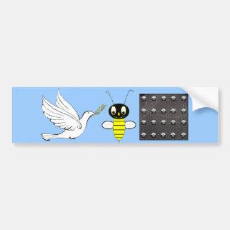 Peace Be Still Bumper Sticker