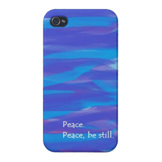 Peace, Be Still Case For iPhone 4