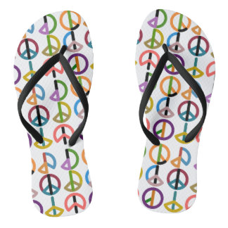 Peace Beat / Custom Adult, Slim Straps Thongs