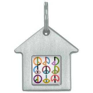 Peace Beat / House Pet Tag