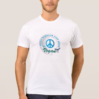 Peace begins on your plate. T-Shirt