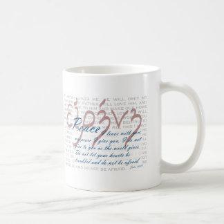 Peace Bible Verse on Christian Mug