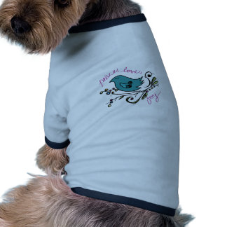 Peace Bird Dog Clothes