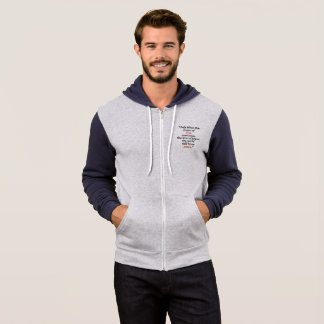 Peace bird Men's Bella+Canvas Full-Zip Hoodie
