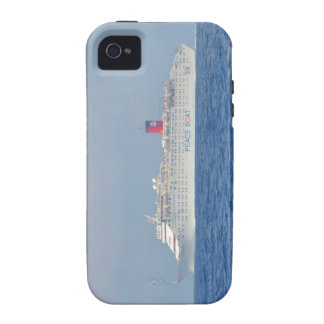 Peace Boat iPhone 4 Cover
