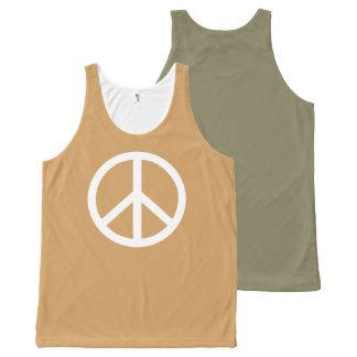 Peace, Bro! Choose Tank Top Color! All-Over Print Tank Top
