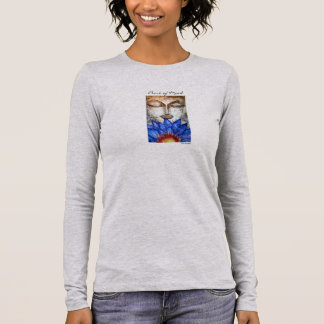 Peace Buddha Art Women's Long Sleeve Shirt
