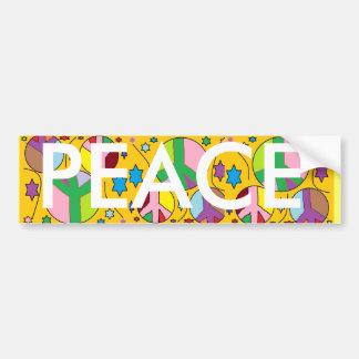 Peace Bumper sticker. Bumper Sticker