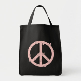 Peace Butterflies Tote Bags