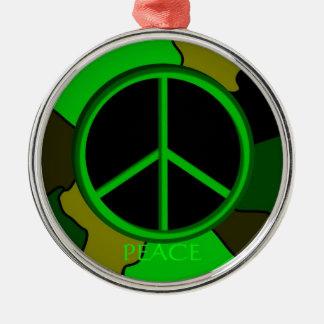 Peace Camo Ornament