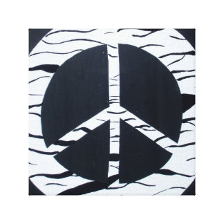 Peace Canvas Wall Art Stretched Canvas Print