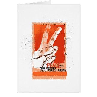 Peace... - Card