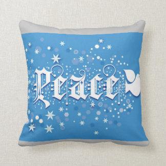 Peace Christmas Pillow