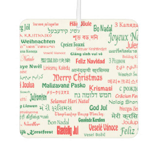 Peace Coexist Happy Merry Christmas Many Languages