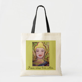 Peace Comes From Within Tote Bag