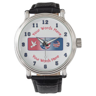 Peace Corps Dove Custom Watch