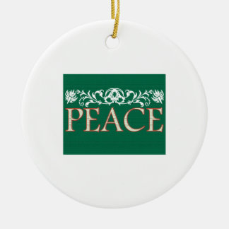 Peace Christmas Ornaments