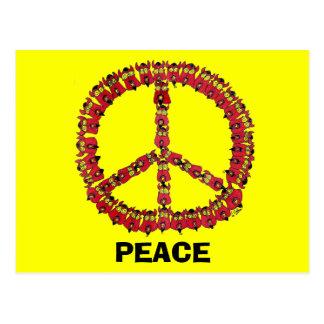 Peace Devils Postcard
