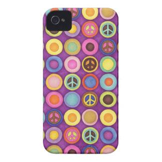 PEACE DOTS Blackberry Case