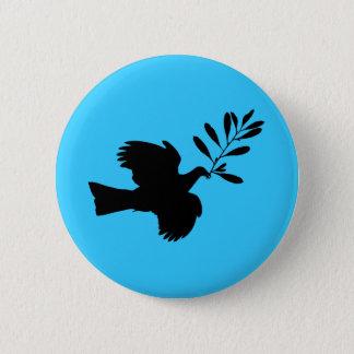 Peace Dove 6 Cm Round Badge